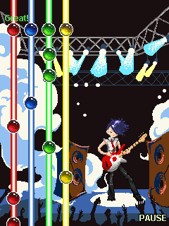 Download free game for mobile phone: Guitar king - download mobile games for free.
