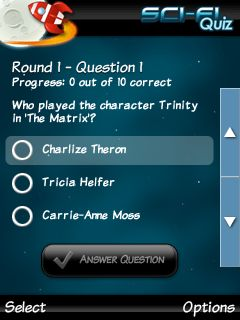 Download free game for mobile phone: Ultimate Sci-Fi Quiz - download mobile games for free.