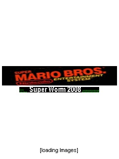 Mario Bros Super Worm 2008