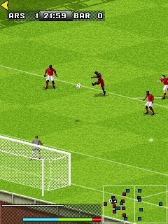 Download free game for mobile phone: FIFA 2008 - download mobile games for free.