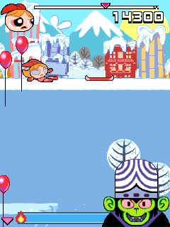 Download free game for mobile phone: Powerpuff girls: Snowboarding - download mobile games for free.