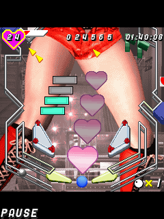 Jeu mobile Rumble Roses Le PinBall Sexy - captures d'écran. Gameplay Rumble Roses Sехy Pinball.