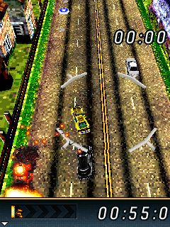 Download free mobile game: FlatOut 3: Chaos & Destruction - download free games for mobile phone.