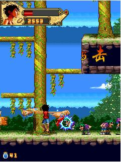Download free mobile game: One Piece Horizontal Action - download free games for mobile phone.