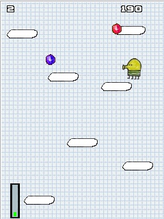 Download free mobile game: Doodle Jump MOD - download free games for mobile phone.
