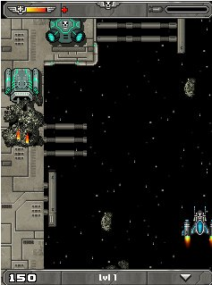 Download free game for mobile phone: Captain Skull 2: Asteroid Assault - download mobile games for free.