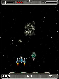 Jeu mobile La Capitaine Crâne 2: l'Attaque de l'Astéroïde - captures d'écran. Gameplay Captain Skull 2: Asteroid Assault.