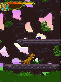 Mobile game The Lion King - screenshots. Gameplay The Lion King.
