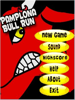Download free mobile game: Pamplona Bull Run - download free games for mobile phone.