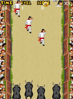 Download free game for mobile phone: Pamplona Bull Run - download mobile games for free.