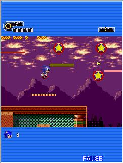 Download free game for mobile phone: Sonic The Hedgehog: Part 1 - download mobile games for free.