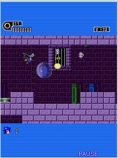 Mobile game Sonic The Hedgehog: Part 1 - screenshots. Gameplay Sonic The Hedgehog: Part 1.