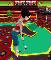 Jeu mobile Le Mini Golf 3D: Las Vegas - captures d'écran. Gameplay 3D Mini Golf: Las Vegas.