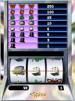 Download free mobile game: Slot Machine - download free games for mobile phone.