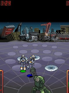 Download free game for mobile phone: MTV Robobouncer - download mobile games for free.