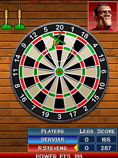Download free game for mobile phone: Phil Taylors Power Darts 08 - download mobile games for free.