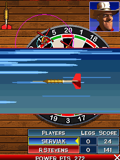 Mobile game Phil Taylors Power Darts 08 - screenshots. Gameplay Phil Taylors Power Darts 08.