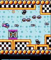 Jeu mobile Parodius Noir - captures d'écran. Gameplay Black Parodius.