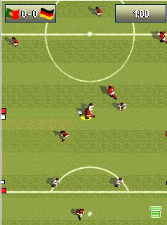 Jeu mobile Le Football avec Cristiano Ronaldo 2012 - captures d'écran. Gameplay Cristiano Ronaldo Football 2012.