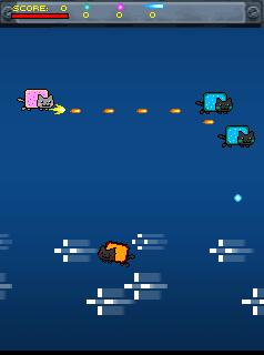 Download free mobile game: Nyan Cat MOD - download free games for mobile phone.