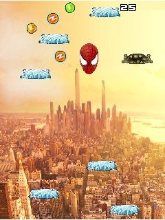 Download free game for mobile phone: Spider-Man: Jump MOD - download mobile games for free.