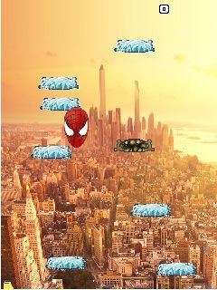 Jeu mobile Spider-Man: les Sauts MOD - captures d'écran. Gameplay Spider-Man: Jump MOD.