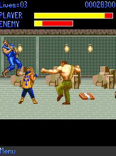 Mobile game Final Fight - screenshots. Gameplay Final Fight.
