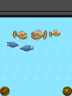 Mobile game Fish Story - screenshots. Gameplay Fish Story.