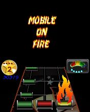 Скриншот java игры Mobile On Fire (MoF). Игровой процесс.