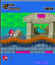 Download free game for mobile phone: Knuckles The Hedgehog Part 2: Remastered - download mobile games for free.
