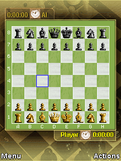 Download free game for mobile phone: Chess Online - download mobile games for free.