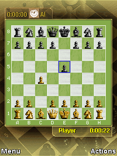 Mobile game Chess Online - screenshots. Gameplay Chess Online.