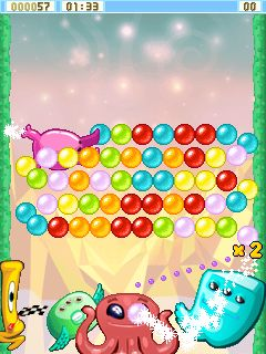 Mobile game Bublex Alien Pop - screenshots. Gameplay Bublex Alien Pop.