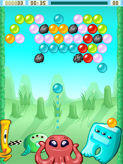 Download free mobile game: Bublex Alien Pop - download free games for mobile phone.