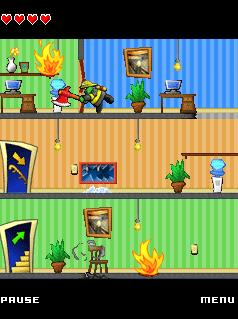 Download free mobile game: Goozers Fire Frenzy - download free games for mobile phone.