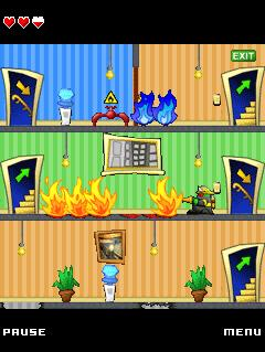 Mobile game Goozers Fire Frenzy - screenshots. Gameplay Goozers Fire Frenzy.