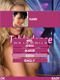 Download free mobile game: Tabledance XXX - download free games for mobile phone.