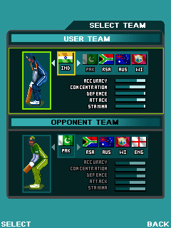 Cricket mobile games free download!