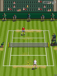 Mobile game Wimbledon 2006 - screenshots. Gameplay Wimbledon 2006.