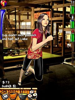 Jeu mobile La Combattante Asiatique Erotique - captures d'écran. Gameplay Asian Erotic Fighter.
