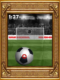 Download free game for mobile phone: Topless Soccer - download mobile games for free.