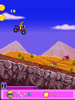 Jeu mobile ATV Extrême - captures d'écran. Gameplay Extreme ATV.
