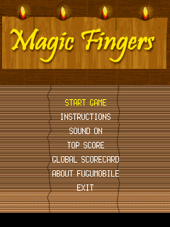 Download free mobile game: Magic Fingers - download free games for mobile phone.