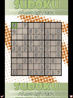 Download free mobile game: Sudoku Monsters - download free games for mobile phone.