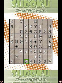 Download free game for mobile phone: Sudoku Monsters - download mobile games for free.
