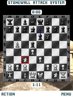Jeu mobile Les Echecs. Mephisto - captures d'écran. Gameplay Mephisto Chess M.E..