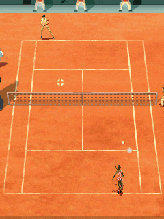 Download free mobile game: Roland Garros 2007 - download free games for mobile phone.