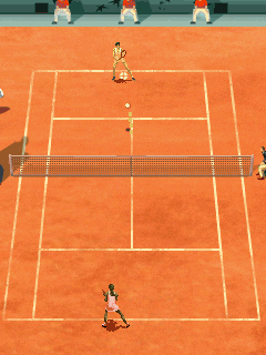 Download free game for mobile phone: Roland Garros 2007 - download mobile games for free.