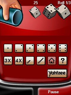 Download free game for mobile phone: Yahtzee Deluxe - download mobile games for free.