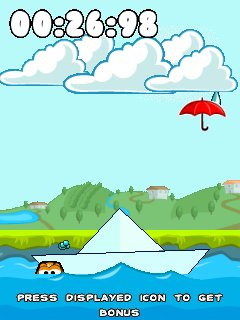 Download free mobile game: Don't Fall Off - download free games for mobile phone.